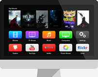 Apple TV - iOS7 Concept
