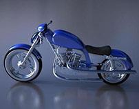 Modelagem/render motocicleta