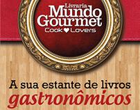 Banners Livraria Mundo Gourmet - blogs parceiros