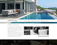 Jardin de Ville - Web Design
