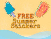Summer Stickers for FREE