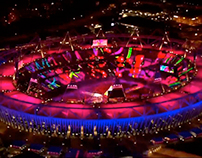 London 2012 Ceremonies – Audience Pixels