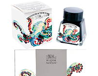 Winsor & Newton Ink Set Design