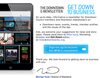 Downtown Council KC: Opt-In, E-News, Website