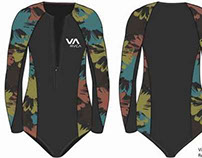 Cooler+RVCA Wetsuit Compettion