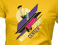 WaterSportCenter T-shirt design