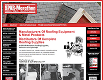 Spar-Marathon Roofing Supplies Website