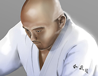 Aikido Photoshop painting