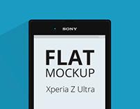 Sony Xperia Z Ultra Mockup