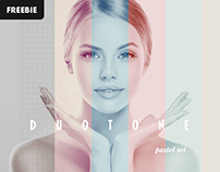 Free Download: Duotone Photoshop Effect