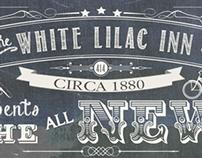 White Lilac Inn Web Launch Poster