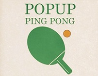 Pop Up Ping Pong - Invitations