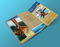 Free Tri Fold Travel Brochure Template