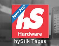 hyStik App Web Site