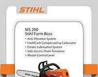 Stihl Co-op Newspaper Advertising