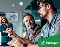 PPT e folder do programa In Company da Trecsson 2019
