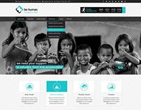 Be Human - Charity WP Theme
