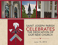 St Joseph Parish Dedication Book