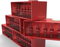 Coca Cola stend