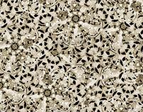 Ornamental Background Pattern