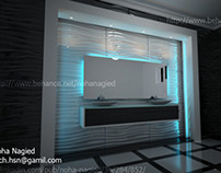 bath room villa zayed 3d wall tile