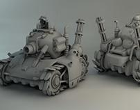 Metal Slug Tank 3D