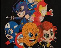 Ilustracion the avengers