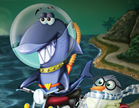 Sparky the Shark - iPad App