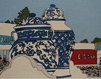 Ilustracion del aniversario de puebla, La Talavera