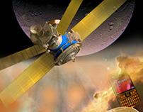 Satellite Communication Illustration