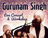 Gurunam Singh Concert Collateral