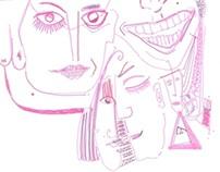 Mural drawings