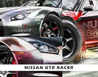 Nissan GTR renders