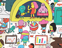 Fast Company Editorial Illustration