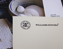 Williams-Sonoma Brochures