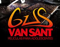 Gus Van Sant - Diseño de logo y gráficas.