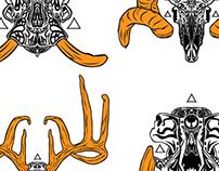 Pre Engraved Skulls