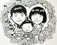 Happy Birthday to Ame Tran - Doodle