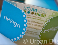 Urban Bliss 2011 Business Cards