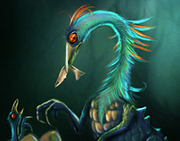 Bunyip - Illustration