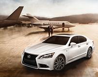 Lexus: 2013 LS F Sport [AA MKT Print]