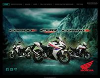 Honda 500 Range Branding Site