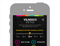 Vilniaus Vietos iPhone application