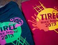 Tiree Music Festival Merchandise Design