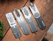 COOKBOOK BOOK MARKS