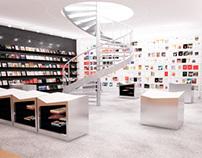 Проект книжного магазина CIRCLE. 2012 г.