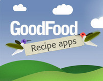BBC Good Food App Illustrations