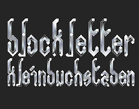 Blockletter-Work In Progress