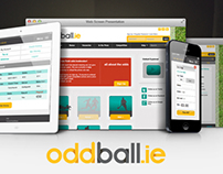 Oddball, Online bookmaker, website design