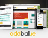 Oddball, Online bookmaker, website design